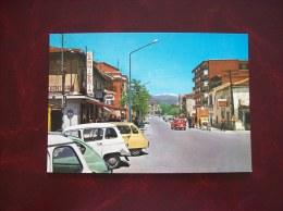 Espagne: Carte Postale De Villalba- Avenue Du Généralissime - Vari