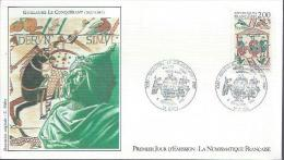 FRANCE FDC 5/9/87 : Guillaume Le Conquérant - History