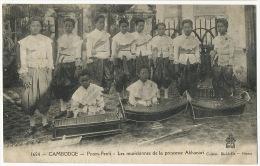 1654 Phnom Penh Les Musiciennes De La Princesse Akhanari Coll. Dieulefils Xylophone Orchestre Band - Cambodge
