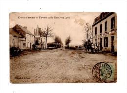 53  Cossé-le-Vivien , Avenue De La Gare  , Cp Abimée - Other Municipalities
