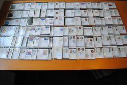FDC / 1° JOUR: Collection Année 1989 Avec Nombreux Cachets Et Cartes Maximum - FDC