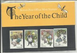 GRANDE BRETAGNE , The Tear Of The Child , British Post Office Mint Stamps , 1979 , N° YT De 896 à 899 - 1952-.... (Elizabeth II)