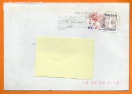MAURY N° 2313    PHILEX JEUNES 84    Lettre Entière N° K 344 - Marcophilie (Lettres)