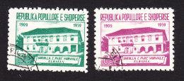 Albania, Scott #559-560, Used, School, Issued 1960 - Albania