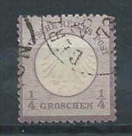 Allemagne - Empire - 1872 - Michel 1 - Oblit. - Oblitérés
