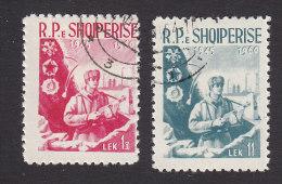 Albania, Scott #561-562, Used, Soldier, Issued 1960 - Albania