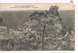 CPA (72) St Léonard Des Bois - Vue Panoramique  - ( S 004) - Saint Leonard Des Bois