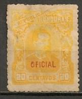 Timbres - Amérique - Honduras - 1890-1913 - Service - Oficial - 20 Centavos - - Honduras