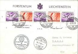 RARITÄT Oder KURIOSITÄT? Landi-Ballonflug 1939 Mit AUSSERGEWÖHNLICHER Frankatur - Posta Aerea