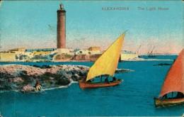 N°556  III 46  ALEXANDRIA ALEXANDRIE RTHE LIGHT HOUSE - Alexandria