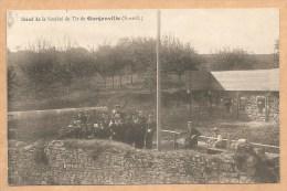 Stand De La Société De Tir De GARGENVILLE (S. Et O.) - écrite 1918 - STAND DE TIR - CIBLE - CARABINE - FUSIL - TIREUR - Gargenville