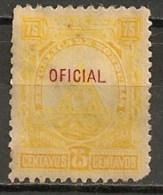 Timbres - Amérique - Honduras - 1890-1913 - Service - Oficial - 75 Centavos - - Honduras