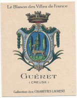 Cigarettes Laurens - Blason Des Villes De France - GUERET (23) - Cigarettes
