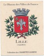 Cigarettes Laurens - Blason Des Villes De France - LILLE (59) - Autres Marques