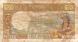 BILLETE DE OUTRE MER DE PAPEETE DE 100 FRANCS  (BANKNOTE) - Papeete (Polinesia Francesa 1914-1985)