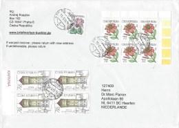 Czech Republic 2015 Chomuyov Water Tower Lily Flower Cover - Tsjechië