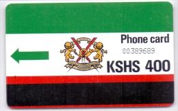 KENYA  PHONECARD K.P.T.C KSHS 400-USED(5) - Kenya
