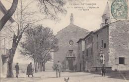 Barjac 30 - Esplanade Eglise - Frankreich