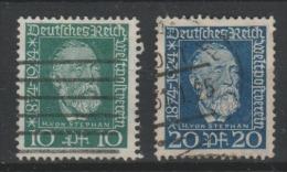 ALLEMAGNE - 1924 -Deutsche Reich - Obl - Michel 368,369- - Germany
