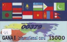 Télécarte * PREPAID  * CHINA  (89) Telefonkarte Phonecard * - Chine
