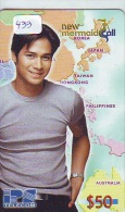 Télécarte PHILIPPINES * FILIPPIINES * EPACE (433) GLOBE * SATELLITE * MAPPEMONDE * TK Phonecard * - Philippines