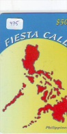 Télécarte PHILIPPINES * FILIPPIINES * EPACE (435) GLOBE * SATELLITE * MAPPEMONDE * TK Phonecard * - Philippines