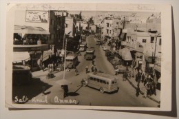 Amman,Jordan,Salt Road.RPPC.1953. - Jordanie