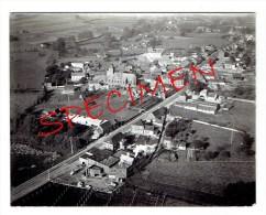 VOLLEZELE - Prachtige Originele Luchtfoto - 16,5 X 12,5 Cm. - 1965/1966. - Galmaarden