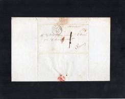 TB 750 - Empire - LAC -  Lettre De CHATELLERAULT Pour THURE - 1849-1876: Période Classique