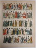 Costumes Religieux, Civil (2), Ecoles, Militaire (2), Arm�e fran�aise (2)