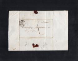 TB 752 - Empire - LAC -  Lettre De CHATELLERAULT Pour THURE - 1849-1876: Période Classique