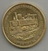 Pas Courant Chemin De Fer De La Baie De Somme Locomotive 130 Cail De 1889 Collection Européenne - Touristiques