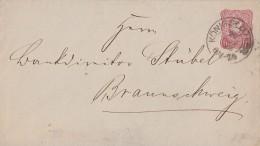 DR GS-Umschlag Nachv. Stempel Königslutter 20.11.1878 - Deutschland