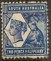 SOUTH AUSTRALIA 1894 2 1/2d QV SG 237 U #MN169 - 1855-1912 South Australia