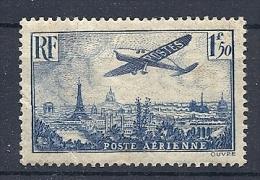 140019974  FRANCIA  YVERT  AEREO  Nº   9  */MH - Luftpost