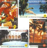 *IS. REUNION* - Lotto Di 4 Schede NUOVE (MINT) Differenti - Riunione
