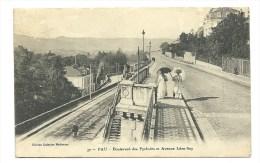 Pau - Boulevard Des Pyrénées Et Avenue Léon Say - Animée - Pau