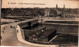 Calais. Le Pont Freycinet Et Le Bassin De Batellerie - Calais