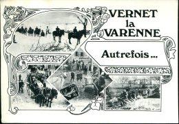 63 - Vernet La Varenne : Autrefois.... - Autres Communes