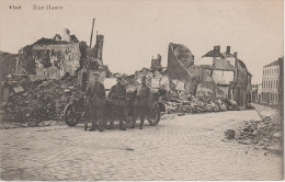 CPA - AK Vise Weset Rue Haute Guerre Krieg Weltkrieg WWI Bei Lüttich Liege Aachen Tongeren Maastricht Belgien Belgique - Visé