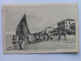 RI 80 Viserba La Spiaggia Hotel Lido E Bologna Ed Dante Montanari 12504 - Rimini