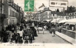 61 - Alençon - LL10 - Rue Du Cours Un Jour De Marché - Markets