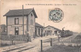 77 - Montceaux-les-Provins - La Gare Animée - France