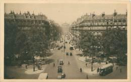 75 - PARIS - L'Avenue De L'Opéra - Transport Urbain En Surface