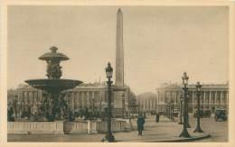75 - PARIS - Place De La Concorde - Transport Urbain En Surface