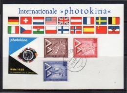 Photokina VAIHINGEN 1959 Mixed Franking With Berlin(bu317) - Brieven En Documenten