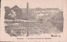 BESANCON Le Doubs Au Pied De Chaudane (Illustration Bouval) - Besancon