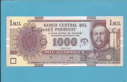 PARAGUAY - 1 000 GUARANIES - 2004 - Pick 222.a - UNC. - Mariscal Francisco Solano Lopez - 2 Scans - Paraguay