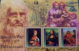 LEONARD DE VINCI 2002 - NEUF ** - YT BL 29 - MI BL 27 - Moldavie