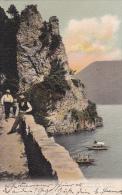 Sentiero Per Gandria - Carte Animée Oblitérée Le 22.X.1907 - TI Tessin